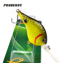 1PC New Design Golf Ball Dimple Crank lures 6 Colors Fishaing Lures 11.5cm/23g fishing tackle Retail box package DW-B20(China (Mainland))