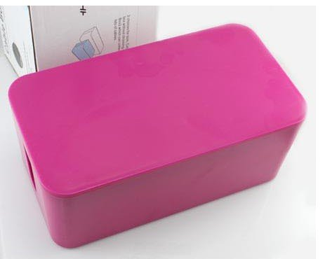 Free shipping(1pc)HOT SALE Large-capacity cable wire storage box(China (Mainland))