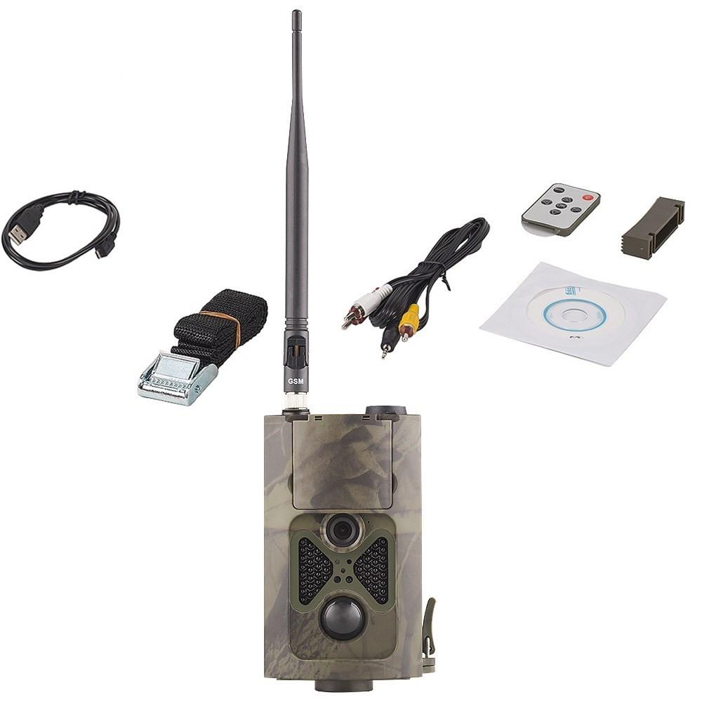 HC-500M Updated wild camera 16MP Black Invisible 940nm 48pcs LED Trigger 0.5s wireless hunting camera HC-550M 5