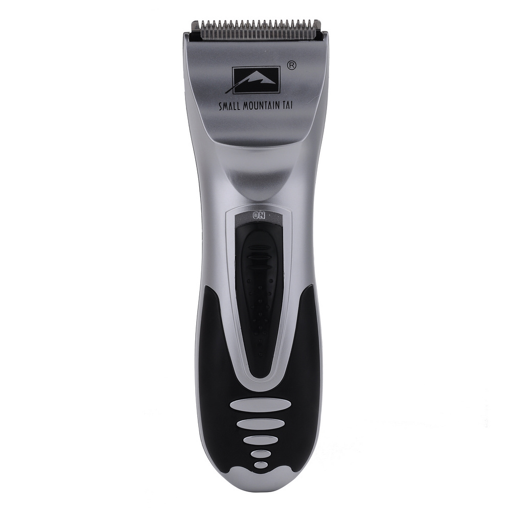 electric battery operated men 39 s shaver razor beard mustache removal hair clipper trimmer silver. Black Bedroom Furniture Sets. Home Design Ideas