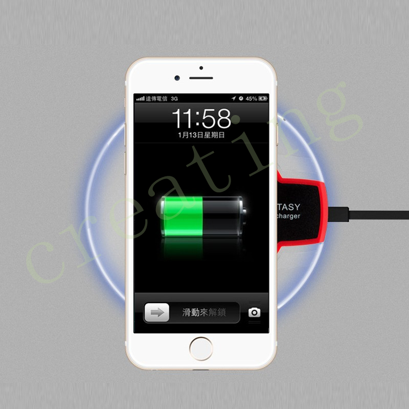 20pcs/lot Qi Wireless Charger Charging Pad for Samsung Galaxy S6 / S6 Edge Plus Nokia Lg G4 G3 G2 V10 Cargador Movil Inalambrico(China (Mainland))