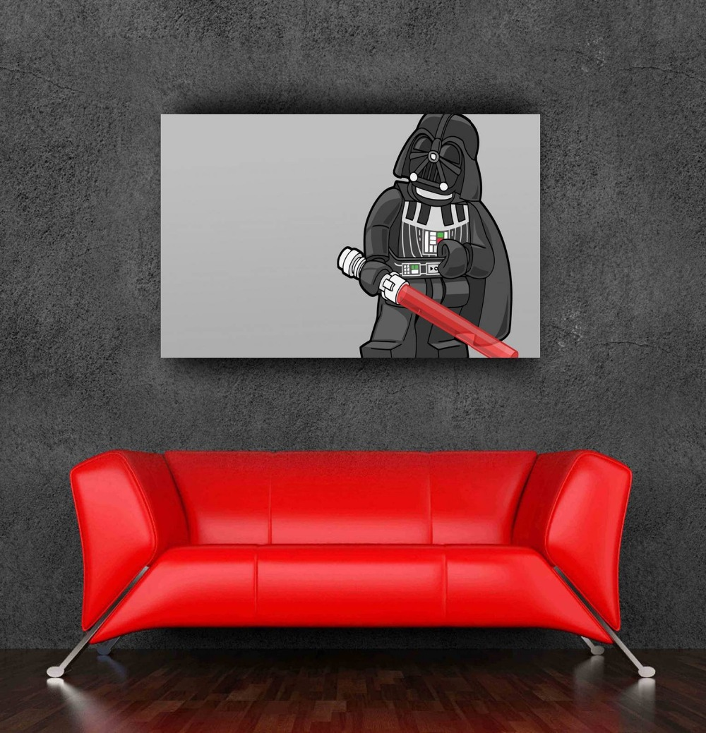 lego wall sticker star wars poster 50x80cm,20x31.5Inch adesivos - Bang&Wil Canvas and Poster Store store