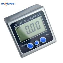 Digital Protractor Inclinometer Bevel Box Level Measuring Tool Electronic Angle Gauge Magnetic Base(China (Mainland))