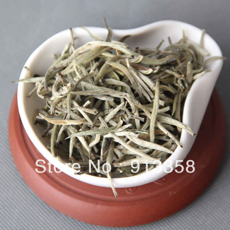 New Coming Big pekoe single bud Moonlight White single bud bulk yunnan white tea 100g bag