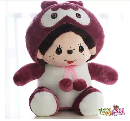 Movie &amp; TV, Stuffed plush 60cm Monchhichi toy about 23 inch doll gift w2708<br><br>Aliexpress