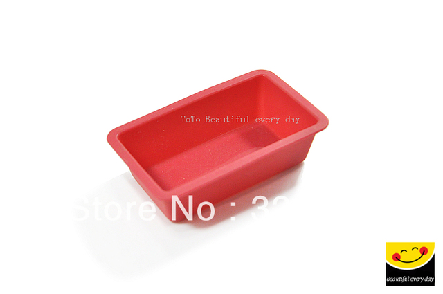 6pcs/lot SP99011 Silicone Cake Mold, Chocolate Jelly Pudding Cake Baking Mold Soap Mold.Free shipping