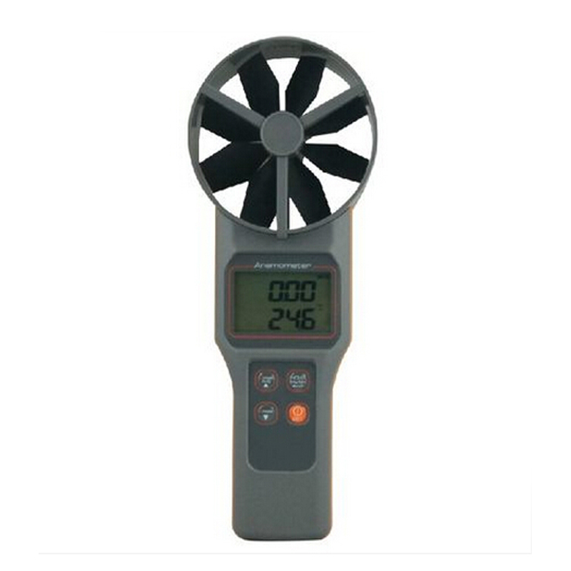 Digital anemometer, air velocity meter Tachometer with Air Temp Air temperature tester with Portable a tool box free shipping<br><br>Aliexpress