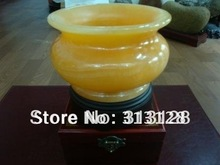 free shipping beige jade censer(China (Mainland))