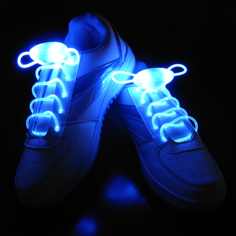 2016 New Luminous LED Multicolors Shoelaces Men Women Fashion Light Up Casual Shoe Laces Disco Party Night Glowing Shoe Strings(China (Mainland))