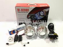 """Buy 2.8HQI 35w 2.8"""" inch Hid Bi xenon Projector Headlight kit CCFL Double Angel Eyes Headlight H1 H4 H7 H11 4300k 6000k 8000k for $100.16 in AliExpress store"""