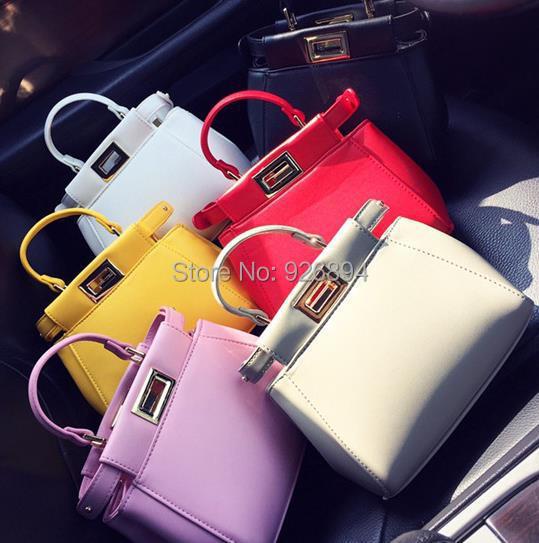 2016 симпатичные мини-конфеты цвета свободного покроя мода сумки сумка мешок пряжки платиновый пакет 6 цветов бесплатная доставка