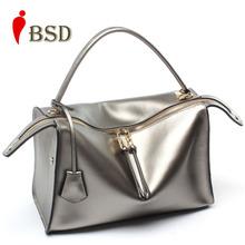 2016 Genuine leather bag luxury handbags women bag designer dollar price high quality brand fashion women messenger bag tote bag(China (Mainland))