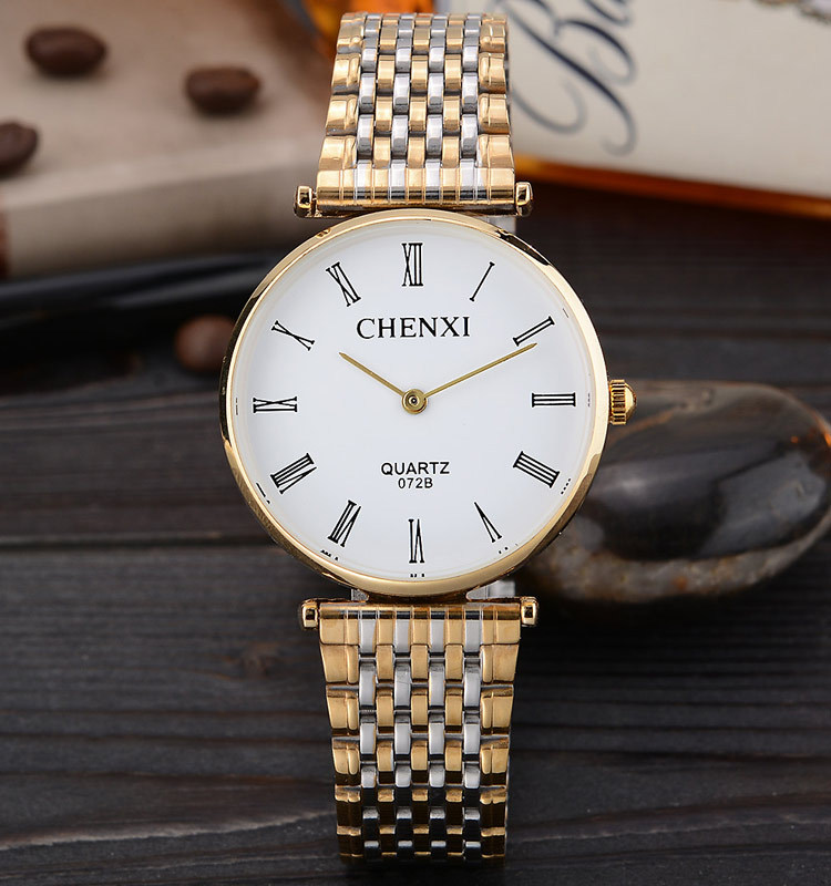2016 Luxury Full Stain Steel Simple Style Roman Numeral Casual Quartz Fashion Rose Gold Antique Elegant Mens Wristwatch <br><br>Aliexpress