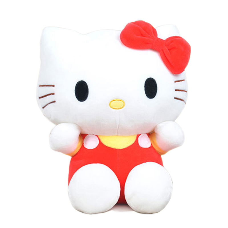 20cm High-quality hello kitty plush toys Stuffed dolls for girls kids toys gift(China (Mainland))
