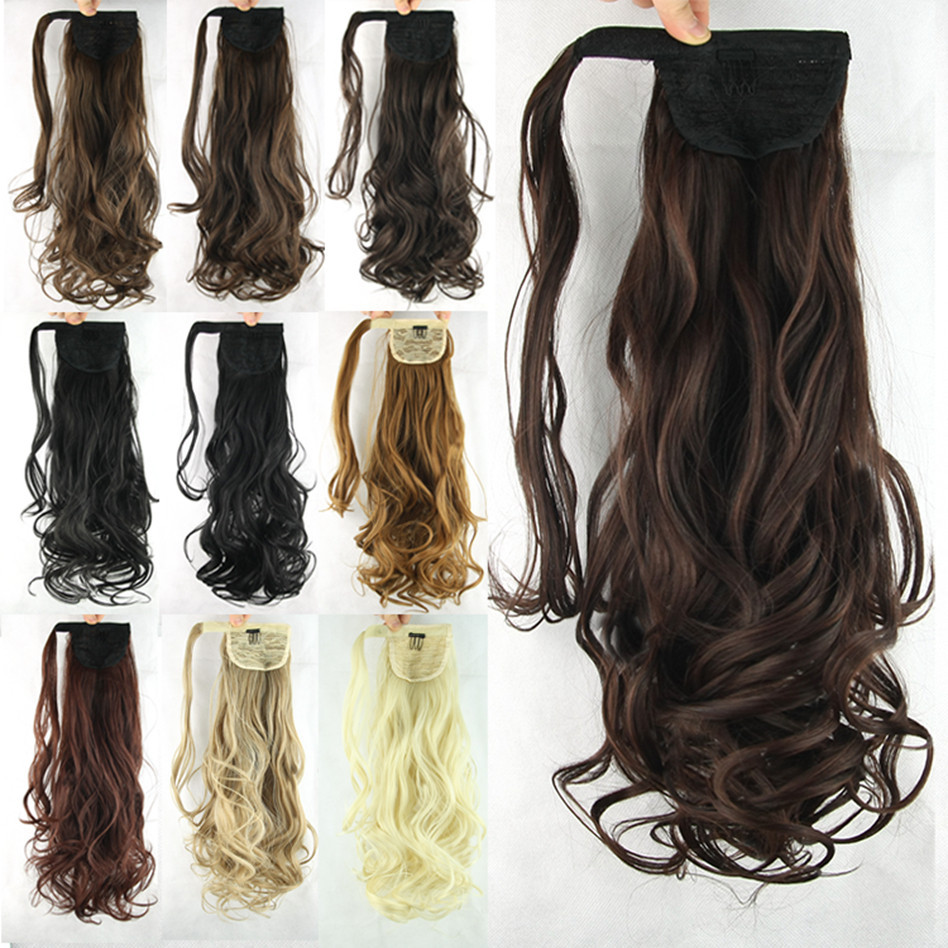 Wholesale 60cm, Ponytail Hairpieces, Synthetic
