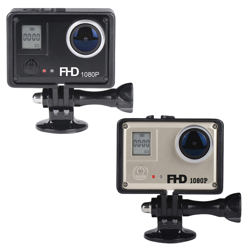 Mini 14.0MP CMOS 1080P FHD DV WIFI 30M Waterproof Sport Action Camera 170 Wide Angle Digital Camcorder Car DVR<br>
