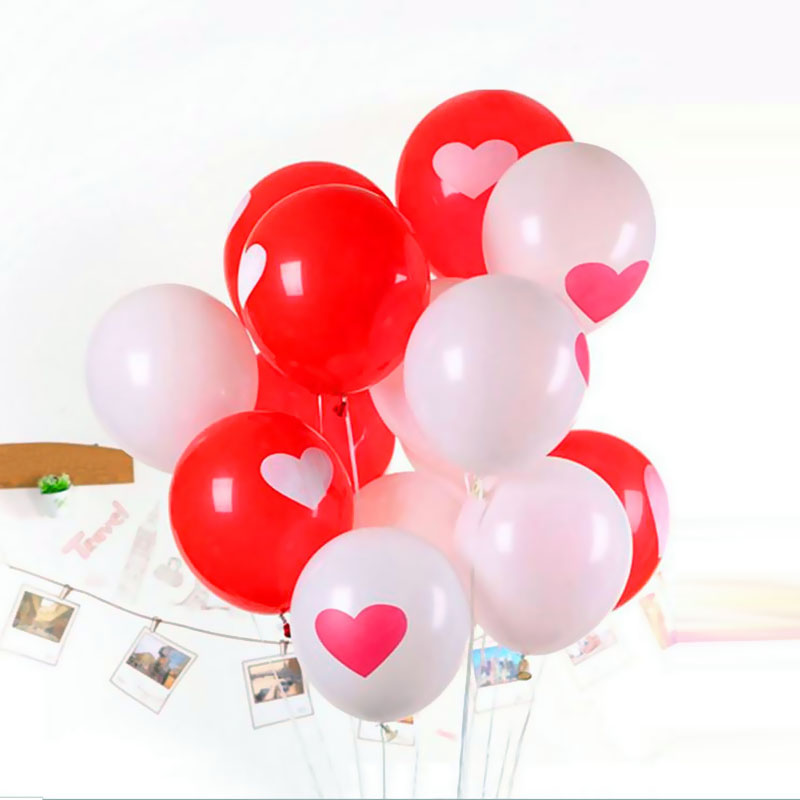 10pcs 12inch Love Heart Pearl Latex Balloon Float Air Balls Inflatable Wedding Christmas Birthday Party Decoration Toys(China (Mainland))