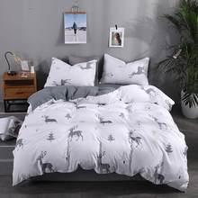 Svetanya 2019 cheap Bedlinen Floral Bedding Set Single Double Full Queen Size (Duver Cover +flat Sheet+Pillowcase)(China)