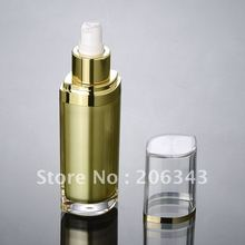 60ML GOLD acrylic eye shape pump lotion bottle,cosmetic container,press bottle ,Cosmetic Cosmetic Packaging - packing world -cosmetic and medicine store