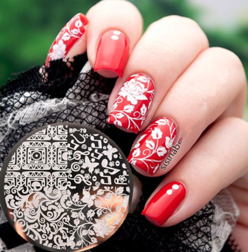 Newly BORN PRETTY BP79 Arabesque Butterfly Nail Art Stamp Template Image Plate<br><br>Aliexpress