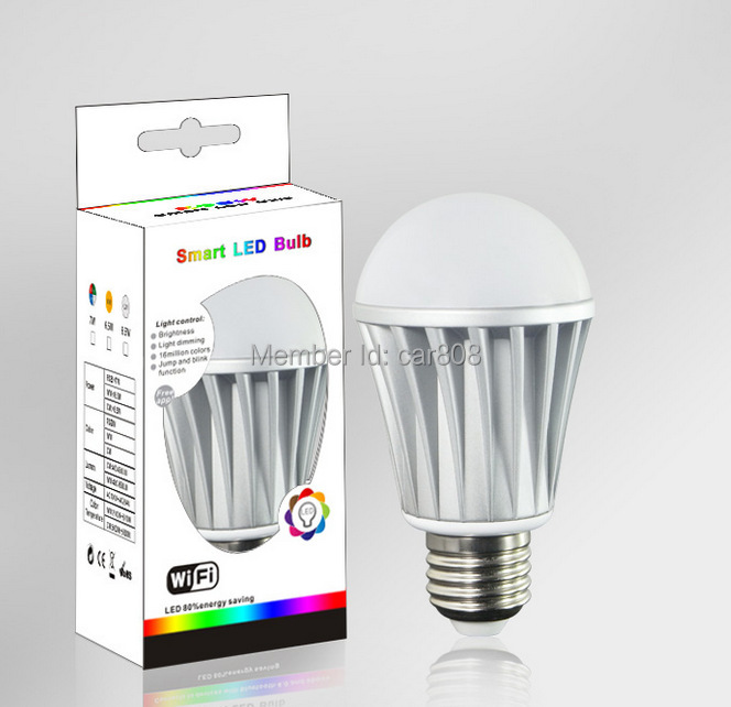 home deocr led smart lamps wifi connected for party wedding night club(China (Mainland))