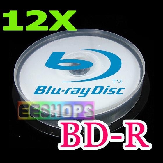 Cheap 6X 12X Recordable Blank Blu-ray Disc 50GB 50 GB BD-R DL Dual Layer 260min Printable DVD Discs Lot 10pcs Spindle Pack Case(Hong Kong)