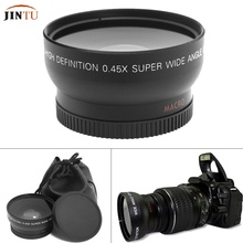 Buy Universal 55mm Digital 0.45X Super Wide Angle Fisheye Lens Macro Canon Nikon 18-55MM DSLR SLR Camera for $14.90 in AliExpress store