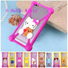 For Cubot Note S case Cubot H1 X15 X16 X17 GT95 Case telefon Silicone Hello kitty Phone Holster Fundas Cover Minions Coque Cover