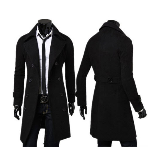 2015 Hot Sale Real New++2015+winter+men%27s+wool+coat+long+paragraph+men+men+slim+woolen+jacket+coat+england+men+coat+wool+b029(China (Mainland))