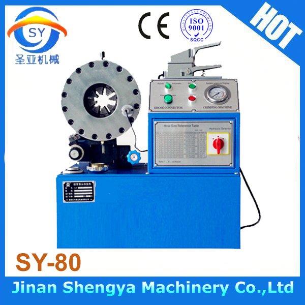 CE approved hydraulic hose fitting crimping machine(China (Mainland))