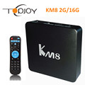 TOPJOY KM8 Amlogic S905X Android 6 0 TV Box 2GB 16GB 2 4Ghz 5Ghz Dual WiFi