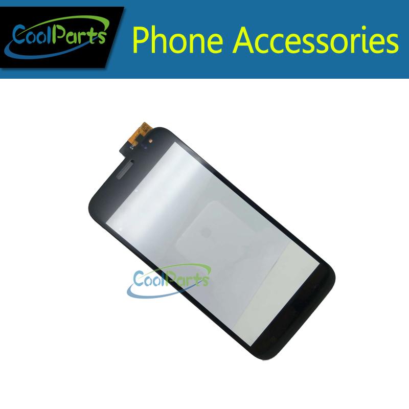 1шт/много высокого качества черного цвета с сенсорным экраном digitizer Сенсорный сенсорное стекло для Explay Х5