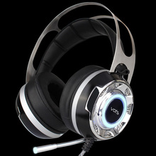 VOTS DTZ headphone deep bass Gaming steelseries vibration Headset earphone with Noise Canceling LED Light mic for pc gamer