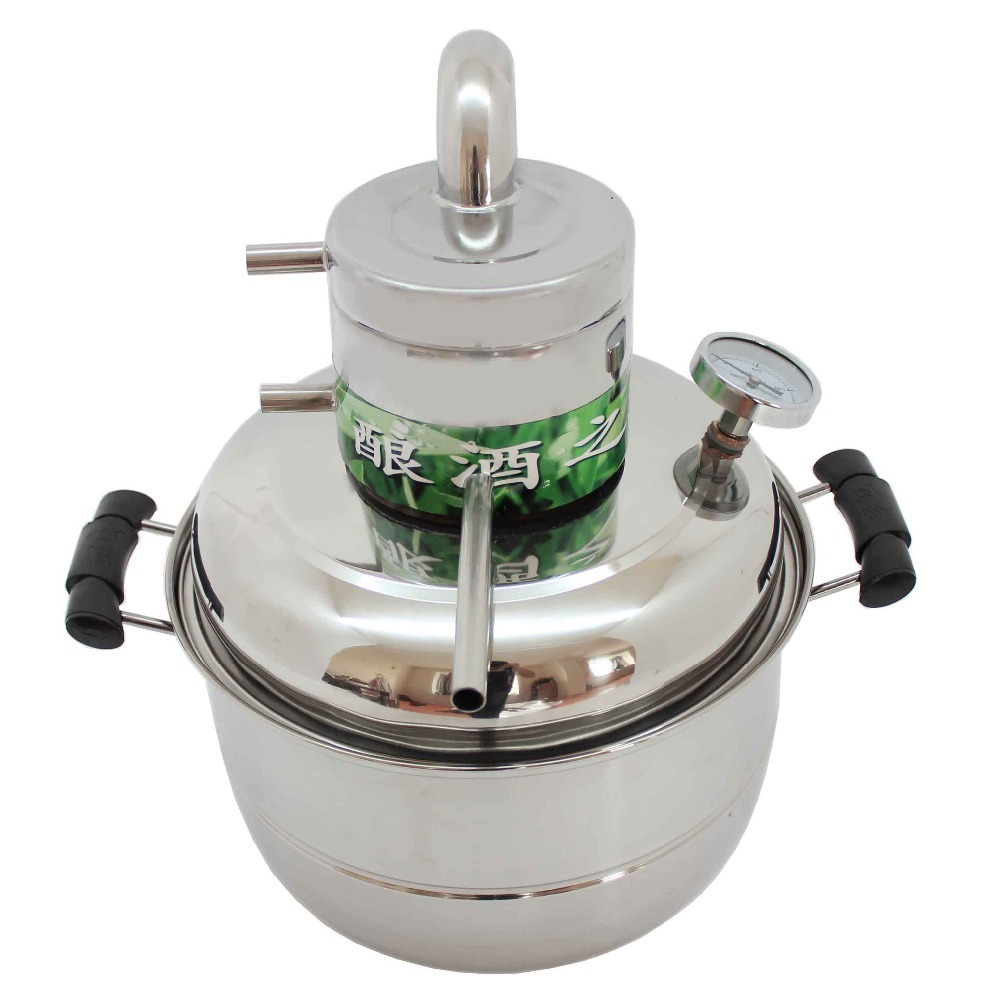 Home Water Distilling Supplies ~ Diy moonshine ethanol stainless litre spirits alcohol