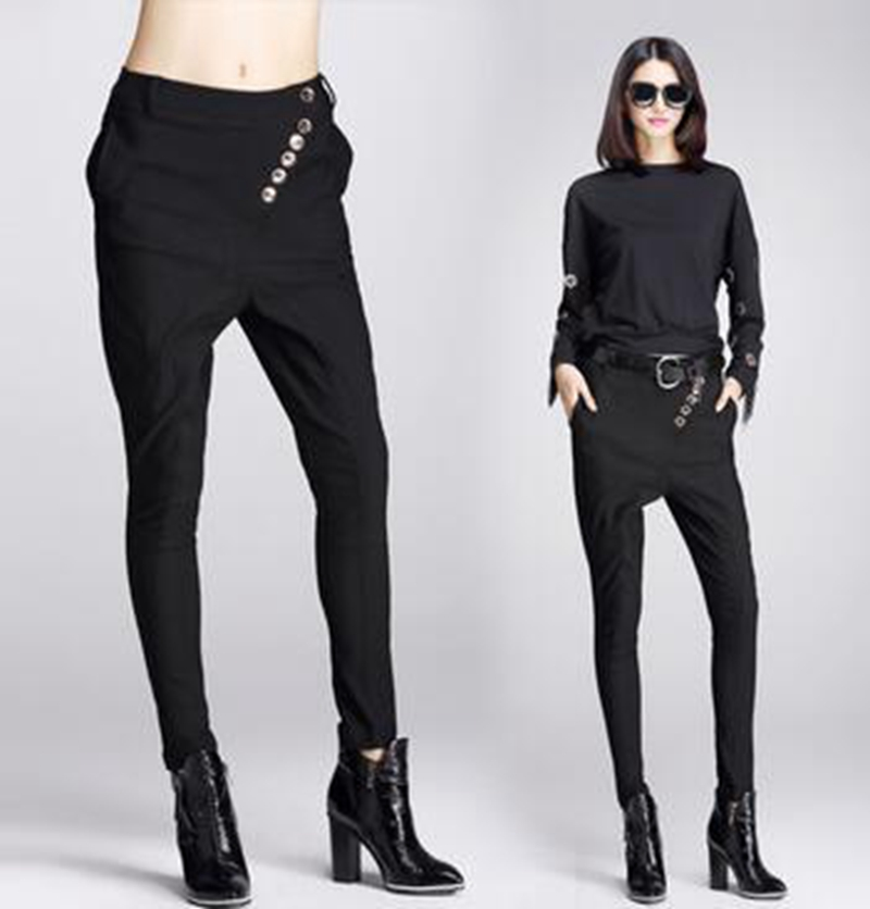 High Quality Punk Black Pants Women-Buy Cheap Punk Black Pants ...