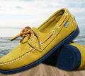 New 2016 British Style Fashion Men Boat Shoes Spring Summer Youth Lace Up Casual Comfortable Flat