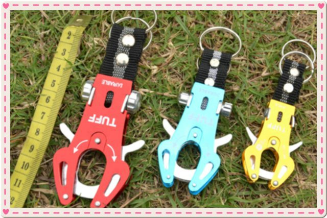 hot outdoor sport tiger buckle camping carabiner hook snap buckle key ring aluminium quick link key buckle new in stock(China (Mainland))