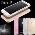 For Huawei Nexus 6P Case Bumper Luxury Ultra Thin Aluminum Metal Frame + Acrylic Cover Fundas for Huawei Nexus 6P Phone Case