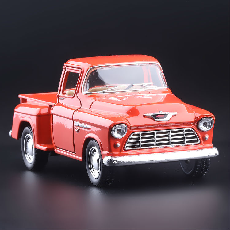 High Simulation Exquisite Collection Toys KiNSMART Car Styling 1955 Chevrolet Stepside Pickup 1:36 Alloy Car Model Best Gifts(China (Mainland))
