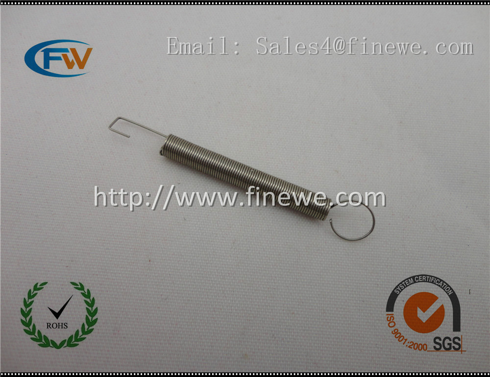 Manufacture Custom 0.4mm stainless steel slot car extension springs,stainless steel extension spring(China (Mainland))