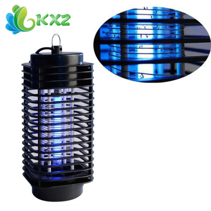 220V Electric Mosquito Fly Bug Insect Zapper Killer Insect With Trap Lamp Black(China (Mainland))