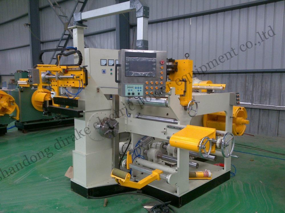 Low voltage transformer aluminum foil winding machine(China (Mainland))