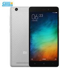 "Original Xiaomi Redmi 3 Snapdragon 616 Octa Core 2G RAM 16G ROM 4100 mAh 5"" 1280X720 13MP Metal Body SmartPhone  FDD LTE(China (Mainland))"