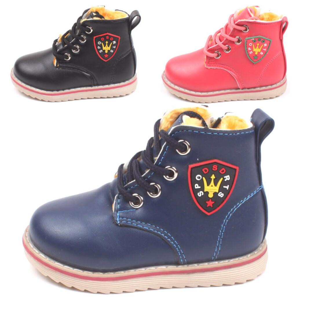 2016 New Fashion Kids Children Shoes Boys Girls Baby Cotton-padded Winter Warm Boots Sneakers - Hangzhou Dolda Tech. Co., Ltd. store