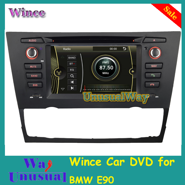 Free Shipping 2015 Top Professional Wince Car DVD Radio For BMW E90- / E91- / E92- / E93-(05-Present) With GPS Navigation BT Map(China (Mainland))