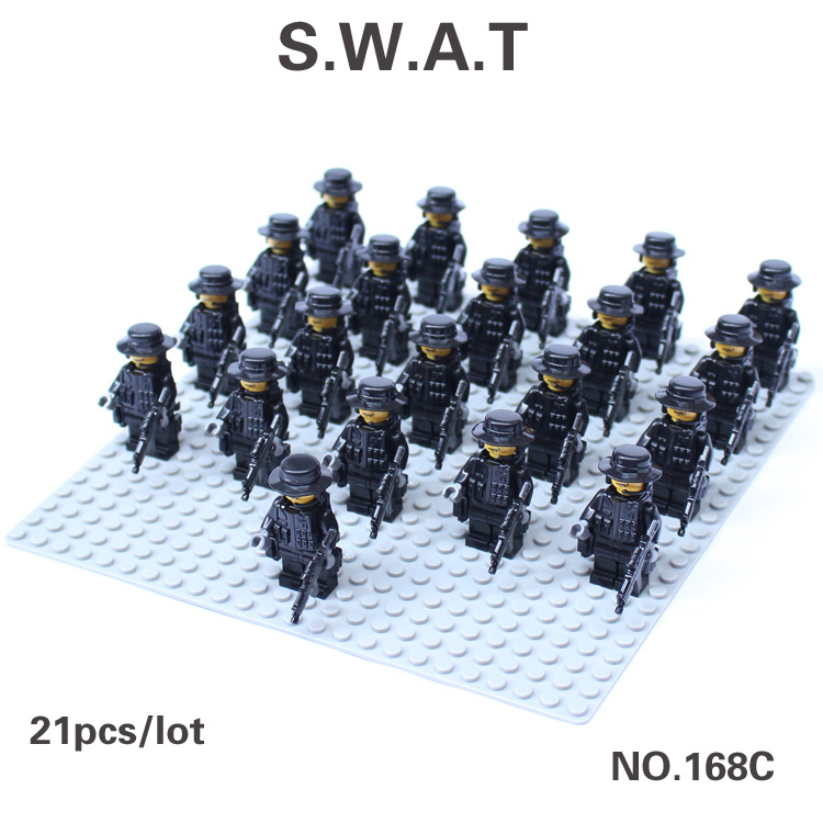 Swat Team Shields Seal Team Swat Army Riot