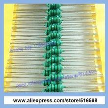 Код индукторы AL0410 0410 100UH 1 / 2 Вт 0.5 Вт осевая ведущий основные индукторы, Резистор в форме индукторы 100 шт./пакет