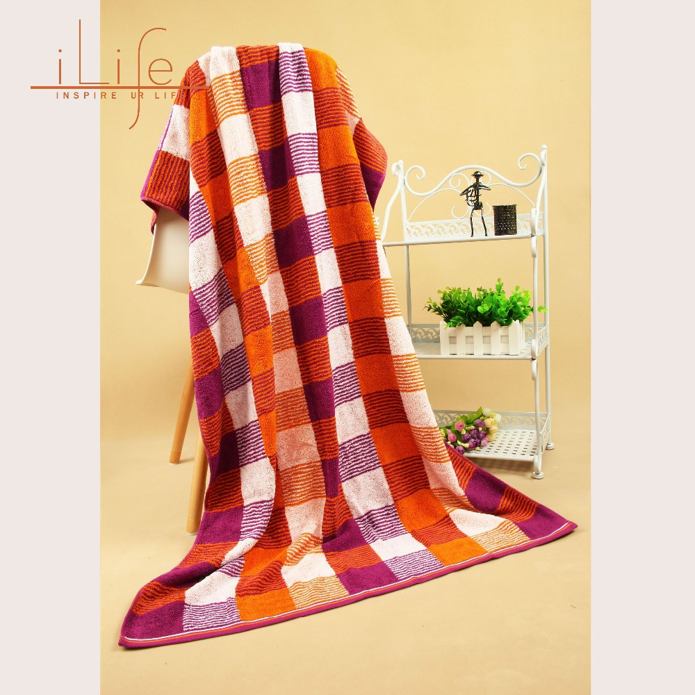 New Selling 1pc 70*140cm Bath Beach Towel Bathroom Adult 100% Cotton Toalha De Banho Quick Dry Absorbent serviette de plage 0017(China (Mainland))