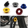 2pc lot Bicycle Bike Parts GUB G 20 Bicycle Crank Arm Screws CNC AL 6061