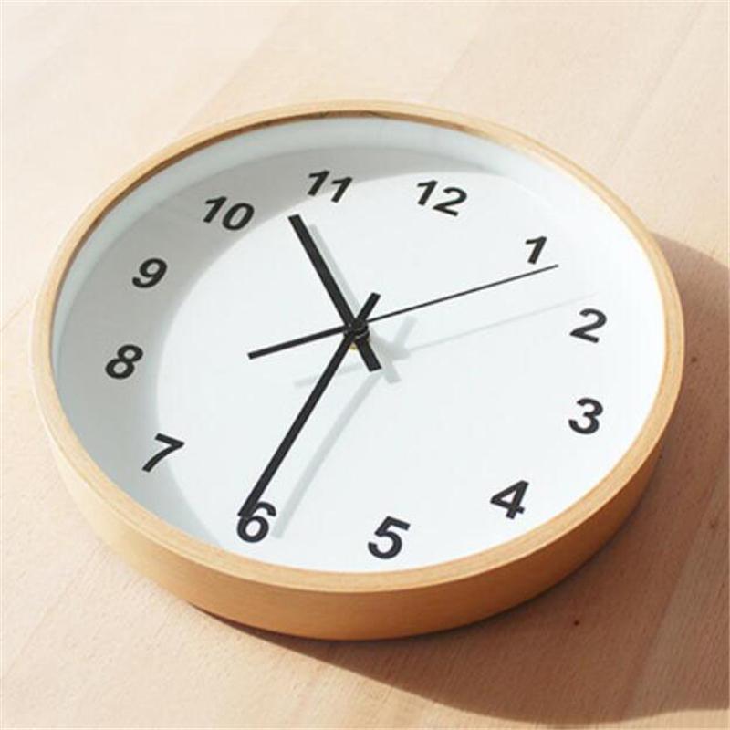 M tal moderne promotion achetez des m tal moderne for Grande horloge murale moderne